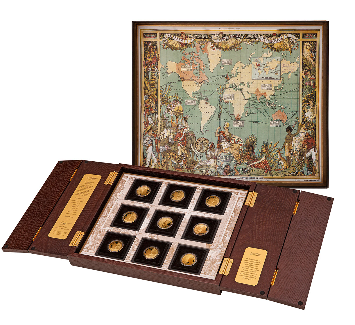 Empire Gold Proof Coin Set