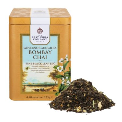 Governor Aungier's Bombay Chai Caddy 125g with Tea Leaf