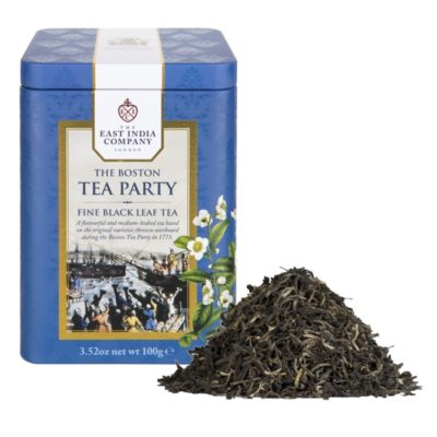 Boston Tea Party Caddy 100g with Tea Leaf