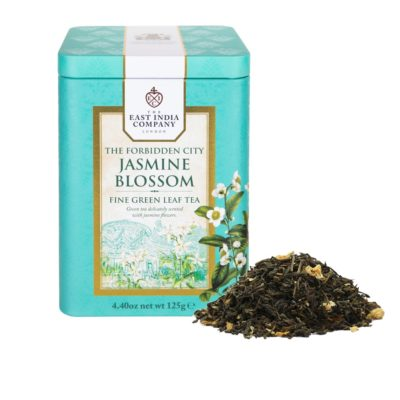 The Forbidden City Jasmine Blossom Caddy 125g with Tea Leaf
