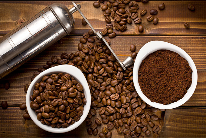 Whole Coffee Beans or Ground Coffee Beans
