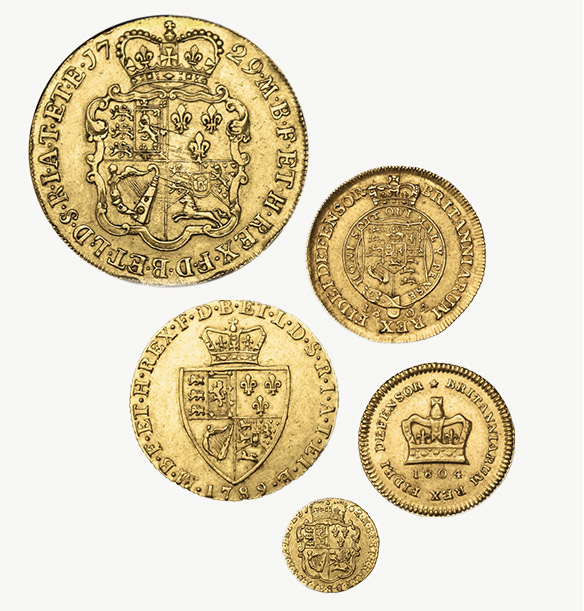 The original guinea coins