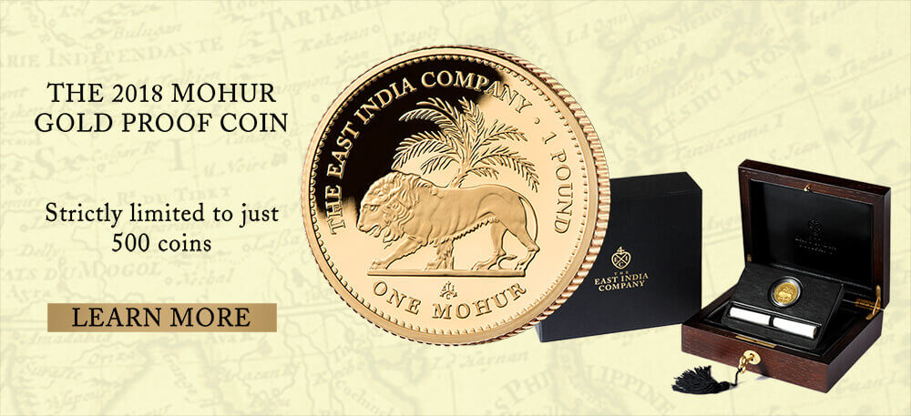 The 2017 mohur Gold Proof Coin