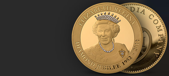 The Diamond Jubilee Gold Kilo Coin