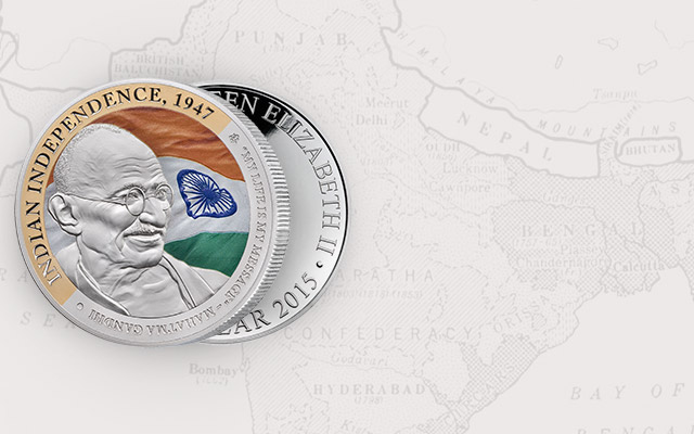Gandhi Fine Silver 1oz Coin Collection