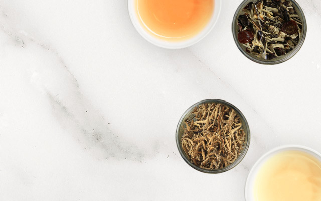 A variety of fine white teas from the highest mountains in Nepal, Sri Lanka and China