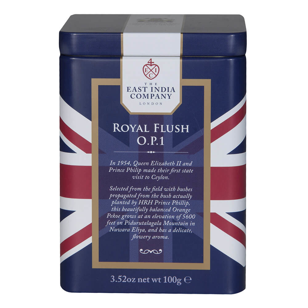 Royal Flush Loose Black Tea Caddy Front