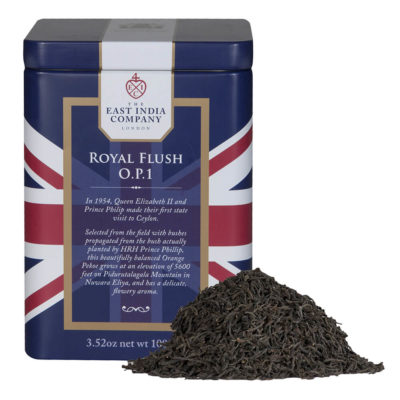 Royal Flush Loose Black Tea Caddy with Tea Leaves