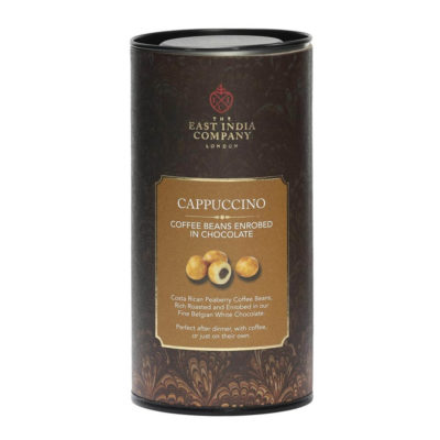 White Chocolate Enrobed Cappuccino Coffee Beans
