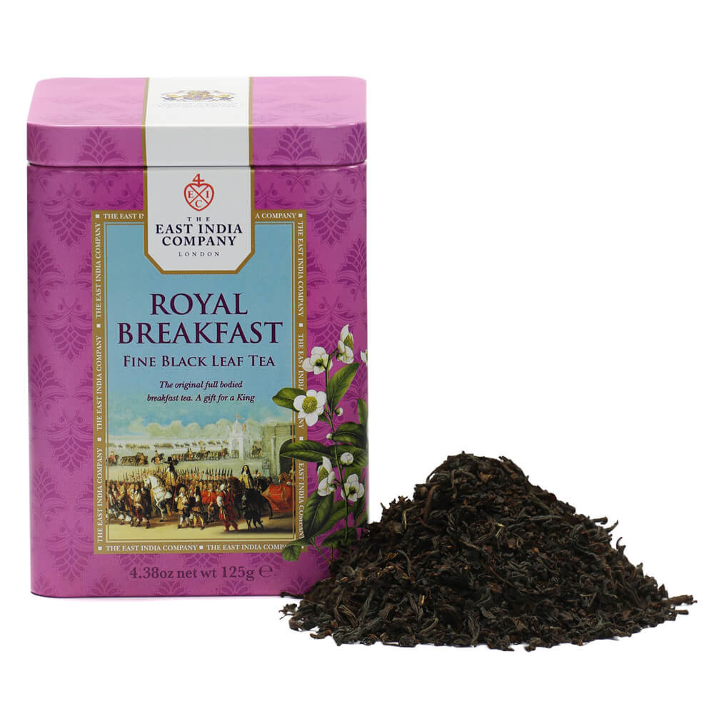 Royal Breakfast Tea Caddy | Loose Tea Caddies