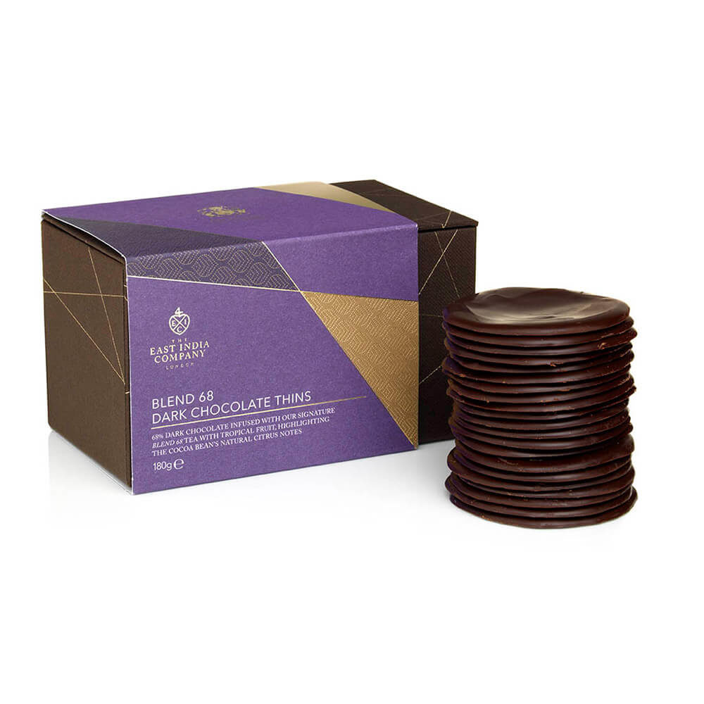 Blend 68 Tea Infused Chocolate Thins