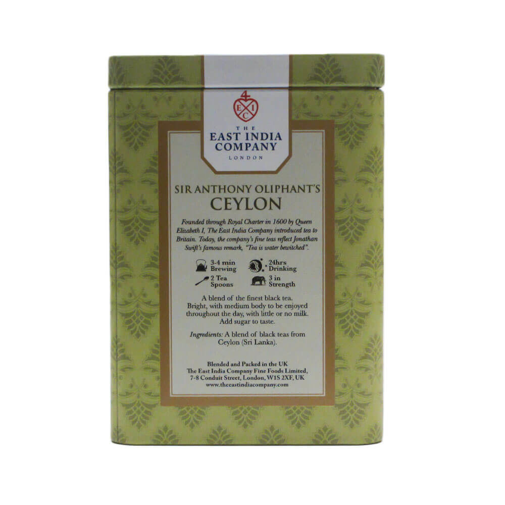 Sir Anthony Oliphant's Ceylon Black Tea Caddy 125g