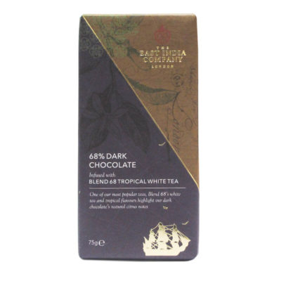 Dark Chocolate Bar with Tropical Blend '68' White Tea