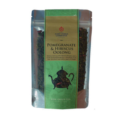 Pomegranate and Hibiscus Oolong Tea