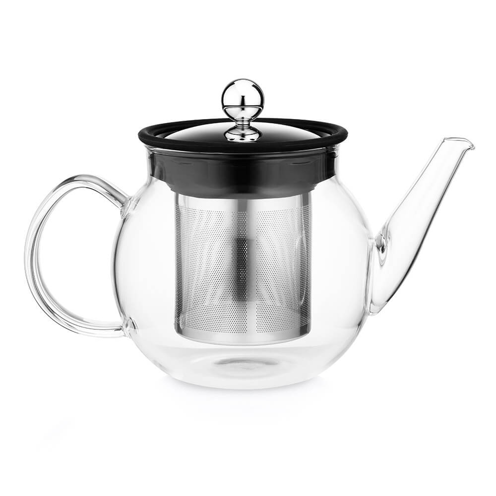 The East India Company Small Glass Teapot With Infuser