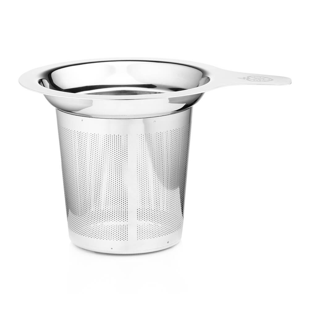 tea strainers and tea warmers  tea accessories from the east  - stainless steel tea infuser with handle
