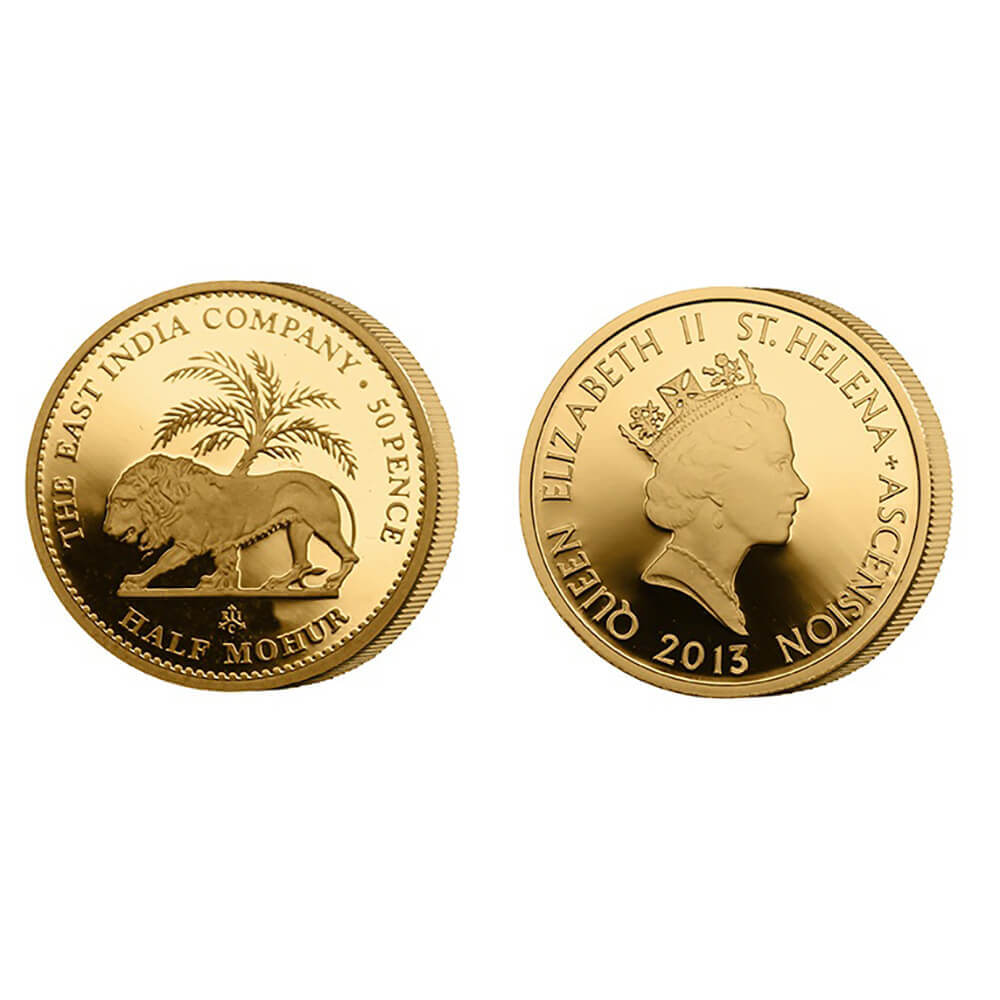 The East India Company - 2013 Half Mohur Gold Proof Coin