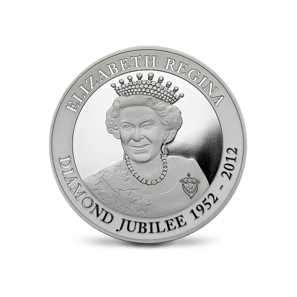 The East India Company - The Diamond Jubilee Silver Kilo