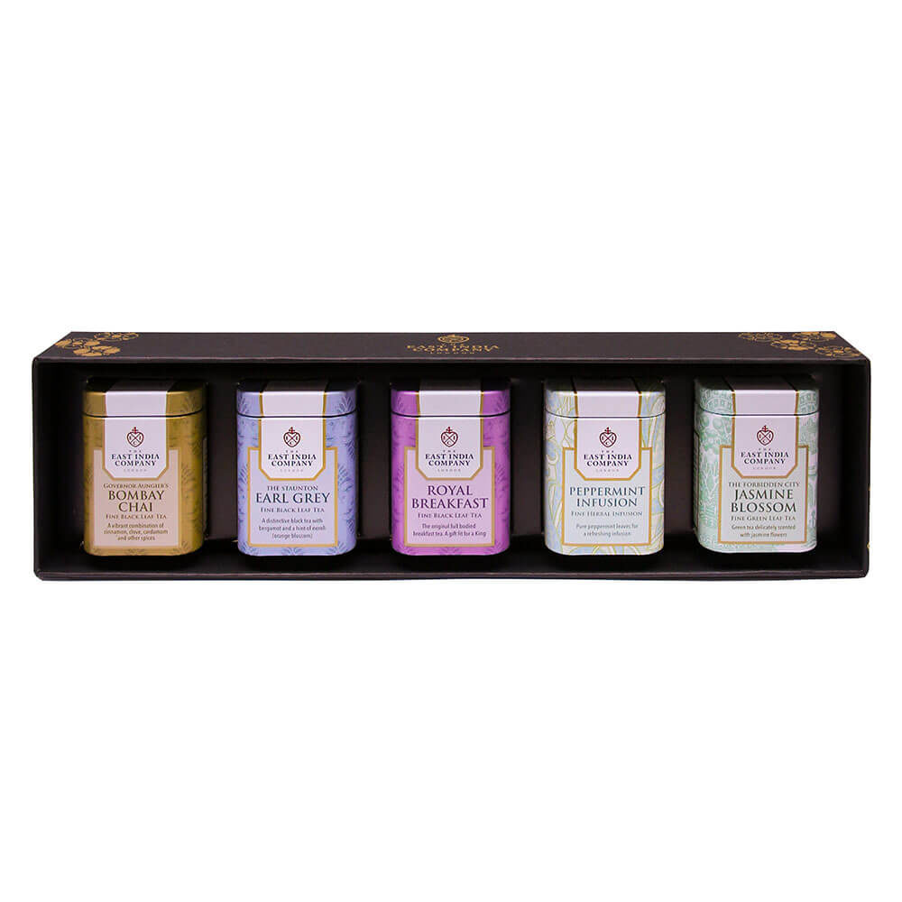 Mini Loose Tea Caddy Gift Set