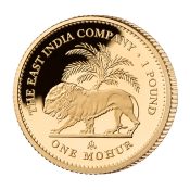 9. Mohur Gold Proof Coin
