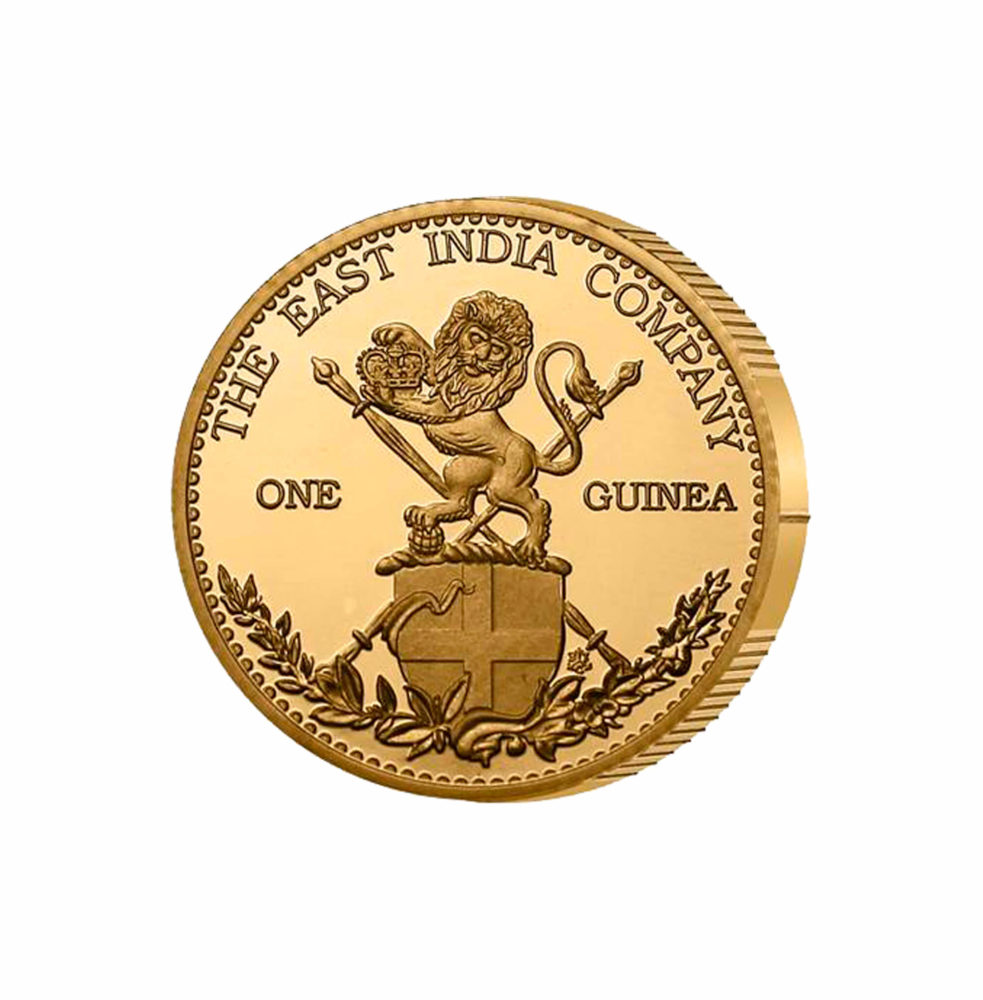 The East India Company - The 2017 One Guinea Gold Proof Coin