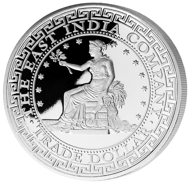 The East India Company 2018 Us Trade Dollar 1oz Silver