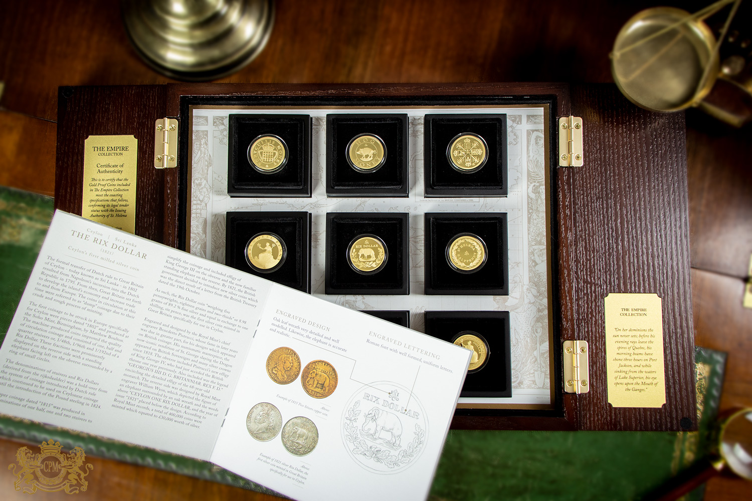 2019 Empire Collection Nine Gold Coin Proof Set - SOLD OUT