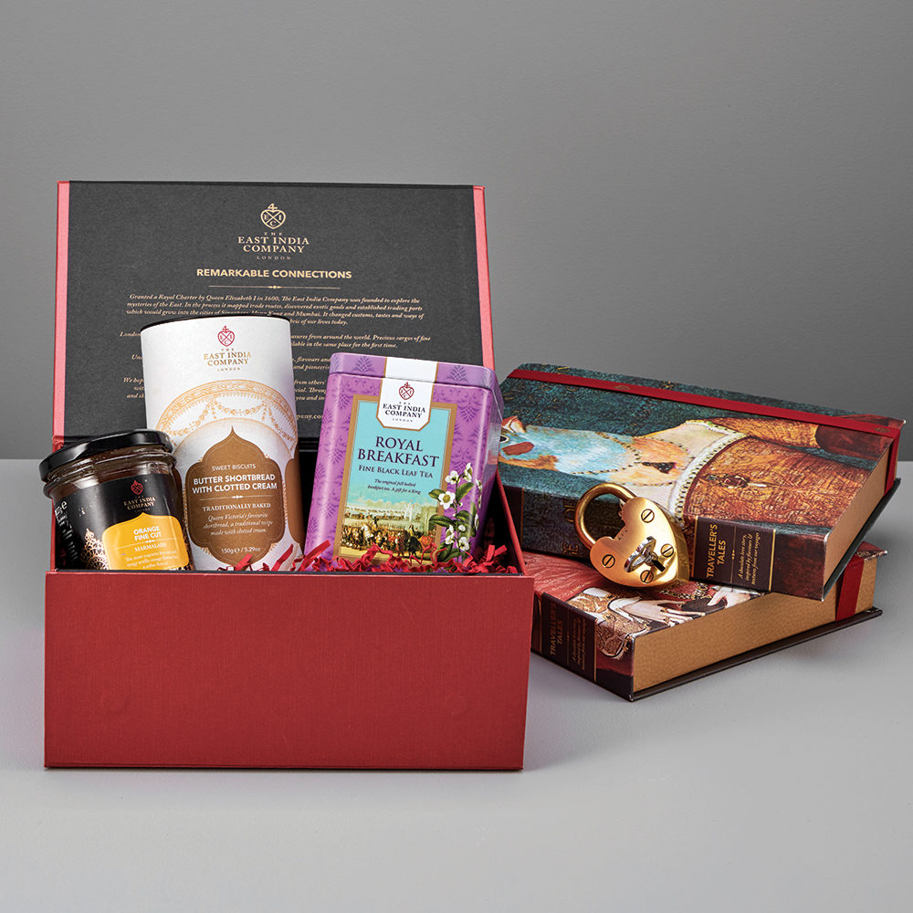 Royal breakfast fit for a king small food gift hamper