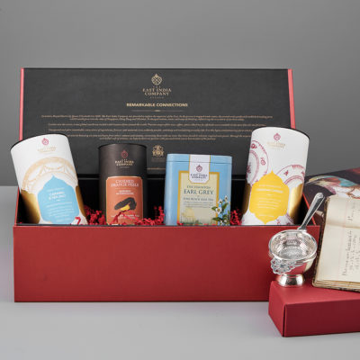 The East India Company Staunton Earl Grey Tea medium gift food hamper