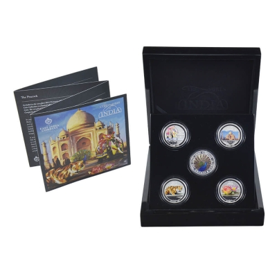 2013 Treasures of India Fine Silver Collection