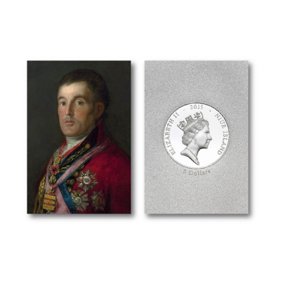The Duke of Wellington $5 Fine Silver Ingot