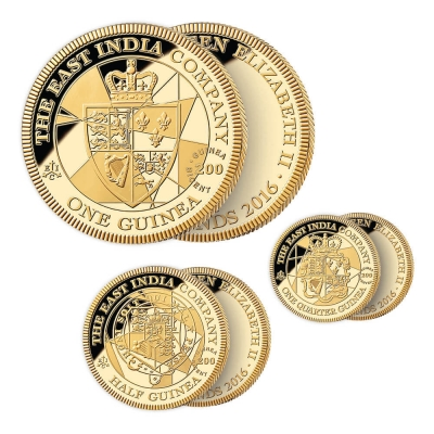 2016 Guinea Gold Proof Three Coin Set