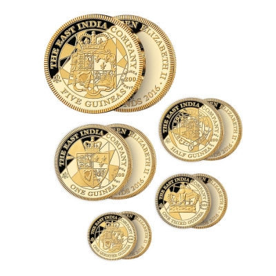 2016 Guinea Gold Proof Five Coin Set