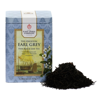 The Staunton Earl Grey Black Tea Caddy 125g
