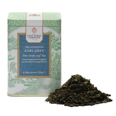 The Staunton Earl Grey Green Loose Tea Caddy 125g