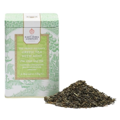 The Prince Sultan's Green Tea & Mint Caddy 125g