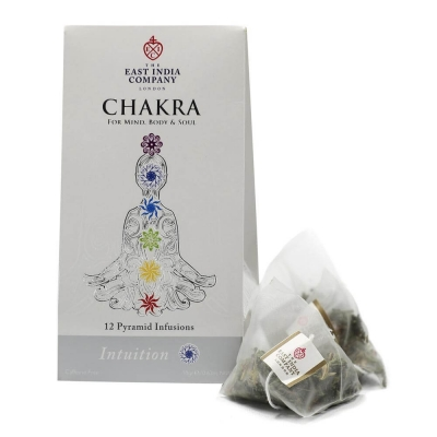 Chakra Intuition Herbal Infusion Pyramid Bags x12