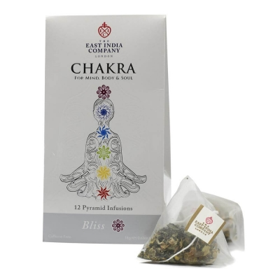 Chakra Bliss Herbal Infusion Pyramid Bags x12