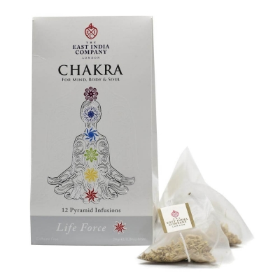 Chakra Life Force Herbal Infusion Pyramid Bags x12