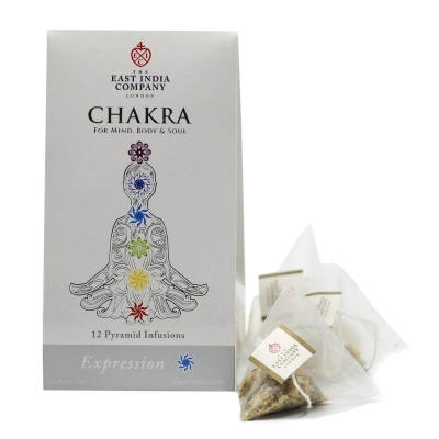 Chakra Expression Herbal Infusion Pyramid Bags x12
