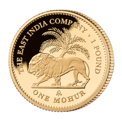 The 2017 One Mohur Gold Proof Coin