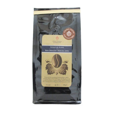 Red Dragon Mocha Java Cafetiere Grind 250g