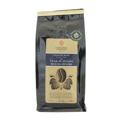 Tiger Of Mysore Mocha Coffee Beans 250g